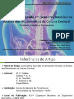 Apresentação - Seminário - Sensores Biomédicos