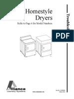 Service Manual Homestyle Dryers LEN27AG4018