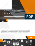 Advertising Media Literacy