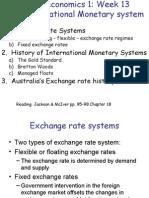 Week13+ the+International+Monetary+System