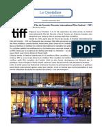 News - TIFF