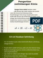Kesetimbangan Kimia PPT