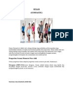 Tugas Olahraga Senam Gymnastic