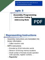 L3 Instruction Coding