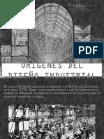 Orígenes del diseño industrial