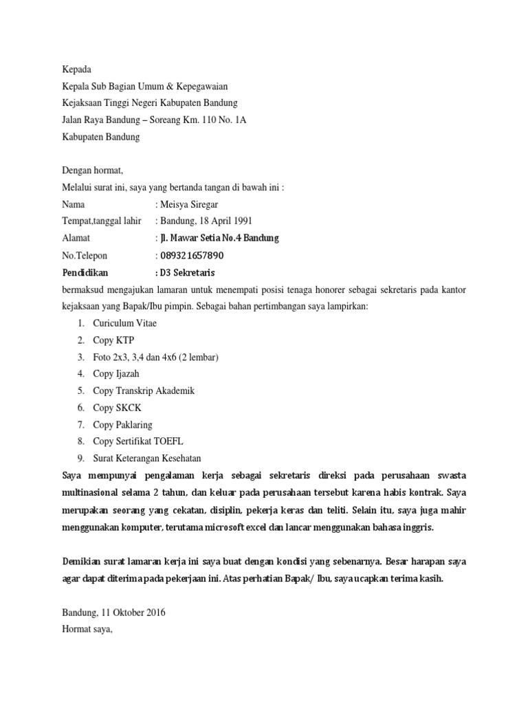 27+ Contoh surat dinas kejaksaan terbaru terbaru