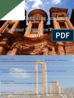 JLA Summer Flyer 2017