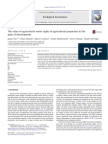 The Value of Agricultural Water Rights in Agricultural Properties in the Path of Development 2013 Ecological Economics