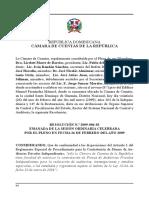 Reglamento 09-04 Contratacion de Firmas de Auditorias Privadas Independientes