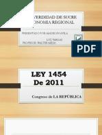 LEY 1454 De 2011--