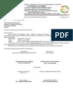 Surat Permohonan Ijin FTP Bersholawat