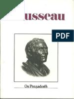 Rousseau - Os Pensadores