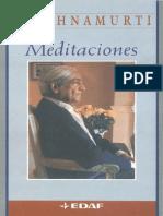 MEDITACIONES - Jiddu Krishnamurti.pdf