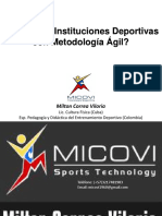 InstitucionesDeportivasConMetodologíaÁgil