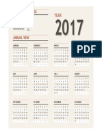 Calendar 2017 Completed