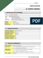 Ficha - Partes Del Cuerpo