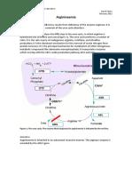 Argininaemia Disorder Summary