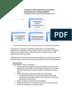 vbl assoc leadership structure   responsibilities