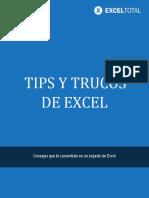 Tips y Trucos de Excel