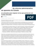 A importância da reforma administrativa do aparelho do Estado.pdf