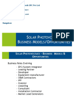 Solar Photovoltaics_Business Opportunities