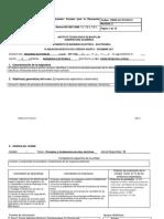 Maquinas Electricas Planeacion Didadctica de IE