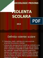 studiu privind  violenta solara