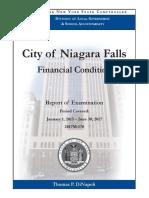 State comptroller's audit of Niagara Falls, N.Y.