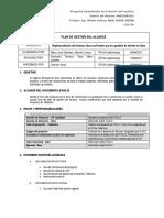 Plan de Gestión Del Alcance Versión2.1 Revisado