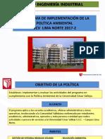 Ppt_programa de Implementacion Politica Ambiental