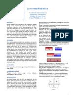 Paper La Termodinamica