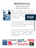 Catalogo Analytica