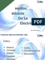 Fundamentos de La Electricidad