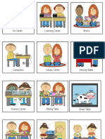 choice board with people and center signs 2