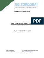 Memoria Descriptiva 1 Area 652.22.