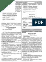 D.S. 009-2006-SA - Aprueban Reg. Alimentación Infantil (1)