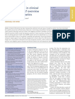 Better Informed in Clinical Practice - A Brief Overview of Dental Informatics