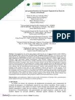 Potencial de discriminação geomorfométrica da Formação Tupanciretã na  Bacia do Paraná, sul do Brasil