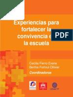 Fierro, C. y Fortoul, B. 2015. Experiencias para fortalecer la convivencia en la escuela.pdf