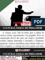 HOMILÉTICA II - CULTURA GERAL.ppt
