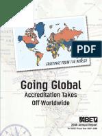 2008 ABET Annual Report