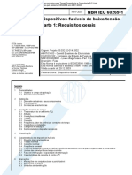 NBR IEC 60269-1 - Dispositivos-fusíveis de Baixa Tensão - Parte 1 Requisitos Gerais