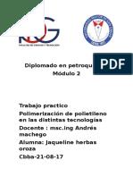 PROCESOS Y TECONOLOGIAS DE POLIMERIZACION DE POLIETILENO (Autoguardado).docx