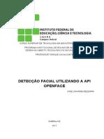 Relatório - Detecção Facial Utilizando a API