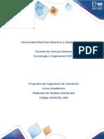 Presentación Del Curso Sistemas de Gestion Ambiental