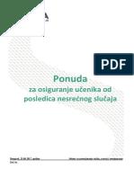 USLOVI OSIGURANJE UČENIKA - 2017
