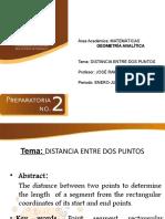 Distancia Entre Dos Puntos JRAA