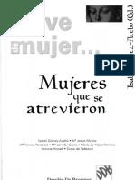 GOMEZ-ACEBO, I. (ed) - Mujeres que se atrevieron - Col. En clave de mujer - Desclee de Brouwer, 1998.pdf