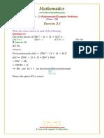 9 Maths Ncert Exemplar Exercise 2 1 Question 14
