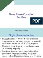 Three Pulse Rectifier R Load